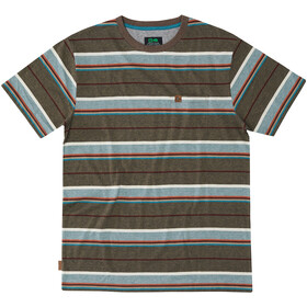 Hippy Tree Portsmith Camiseta Hombre, heather brown